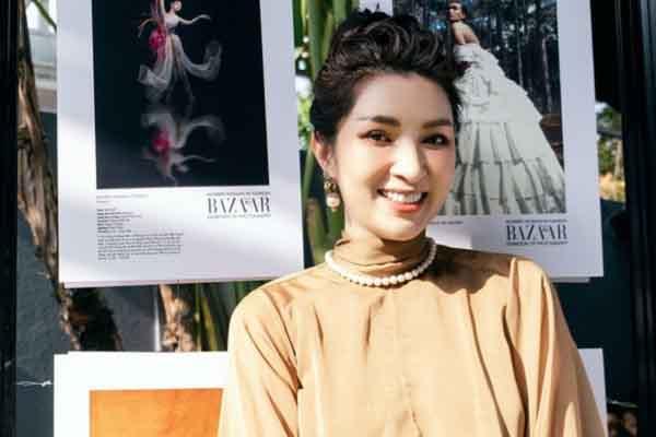 Nguyễn Hồng Nhung bất ngờ khi ngắm nhìn hình ảnh của chính mình