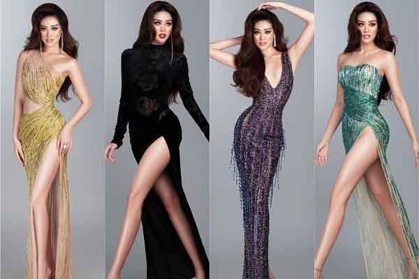 Khánh Vân nhờ khán giả gợi ý trang phục cho đêm bán kết Miss Universe 2020