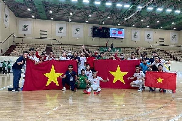 Tuyển futsal Việt Nam lập kỳ tích lần thứ 2 vào World Cup