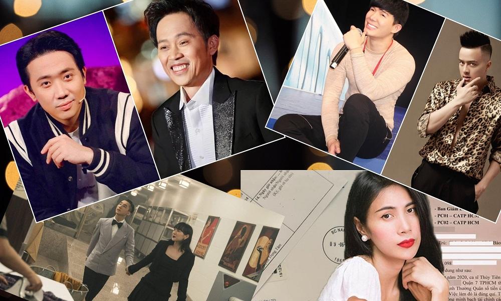 Những ồn ào của giới giải trí Việt nửa đầu 2021: Tình, tiền và những cuộc khẩu chiến