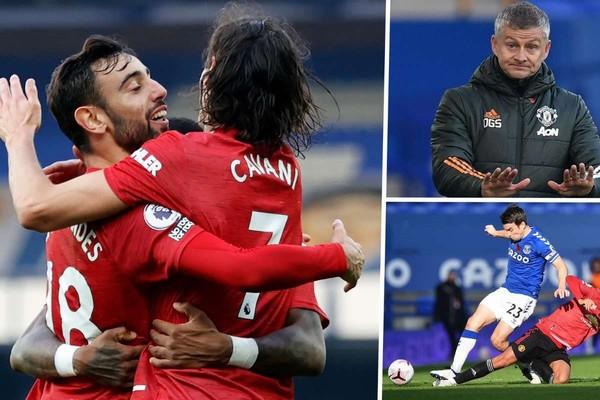 Ca ngợi Fernandes, Solskjaer nói Cavani sẵn sàng đá chính sau bàn thắng trước Everton