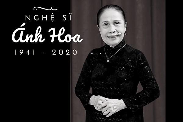Nghệ sĩ Ánh Hoa qua đời ở tuổi 79