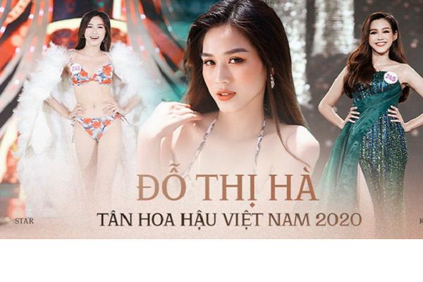 Người đẹp 19 tuổi đến từ Thanh Hóa đăng quang Hoa hậu Việt Nam 2020