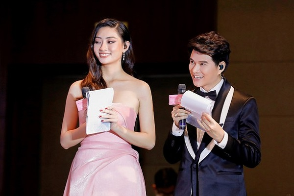 Lương Thùy Linh nói gì khi dẫn chung kết Hoa hậu Việt Nam cùng Vũ Mạnh Cường?