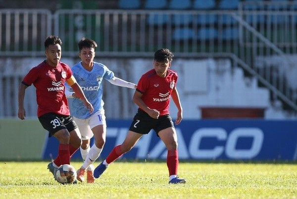 VCK U.21 Quốc gia: SLNA chạm trán ứng cử viên vô địch Phố Hiến ở trận mở màn bảng B