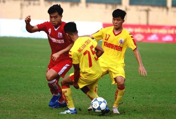 Bàn thắng đưa Sông Lam Nghệ An vượt qua bảng tử thần vào bán kết U.21 Quốc gia 2020