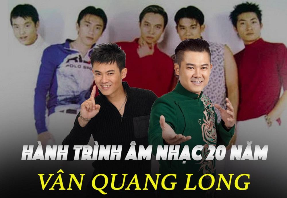 Nhìn lại những ca khúc ghi dấu ấn của Vân Quang Long trong 20 năm sự nghiệp