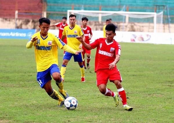 VCK U.21 Quốc gia: 2 đội mạnh nhất bảng A gặp nhau