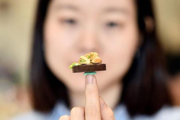 Món ăn siêu nhỏ của nghệ nhân Việt được hãng thông tấn Pháp đăng tải