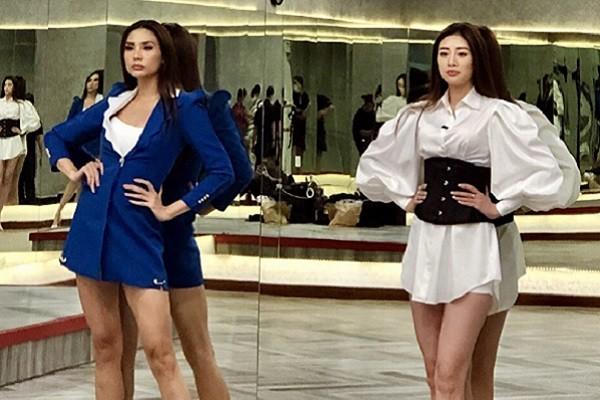 Hoa hậu Khánh Vân học hỏi kinh nghiệm catwalk từ Võ Hoàng Yến