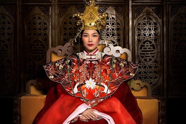 Thanh Hằng tự tin với vai diễn Thái hậu Dương Vân Nga