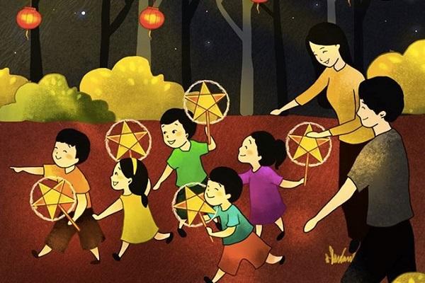 Những chiếc lồng đèn dẫn lối tôi về miền ký ức tuổi thơ
