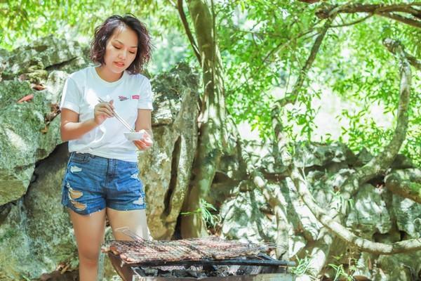 Thái Thùy Linh tiếp tục hành trình du ca đến Phong Nha - Kẻ Bàng