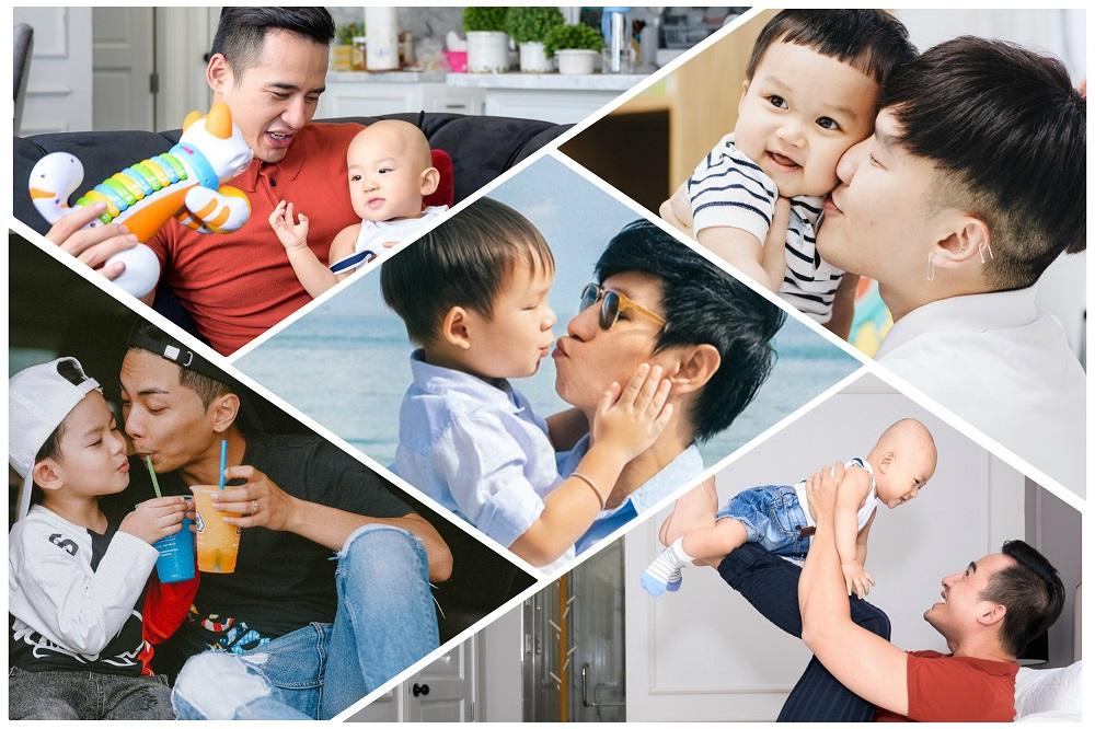 Những ông bố số một của showbiz Việt