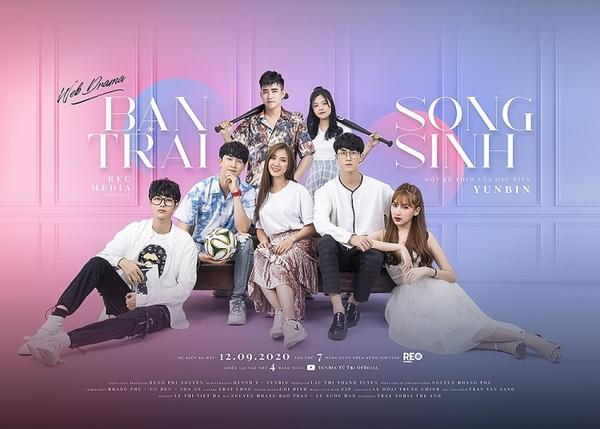 'Bạn trai song sinh': Web-drama về đề tài thanh xuân hứa hẹn 'gây bão'