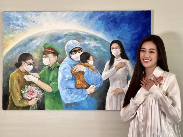 Hoa hậu Khánh Vân gửi tặng 150 triệu cho quỹ phòng chống dịch Covid-19
