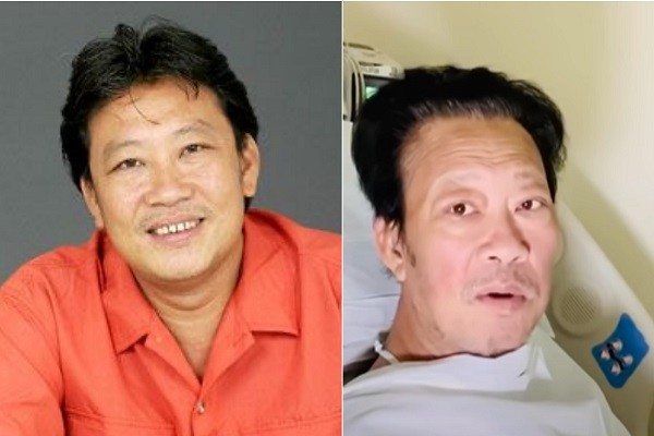 Nhạc sĩ Lê Quang phẫu thuật cắt bàn chân phải vì bệnh tiểu đường