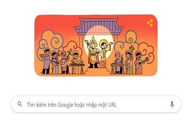 Google tôn vinh nghệ thuật cải lương Việt Nam nhân ngày giỗ Tổ sân khấu