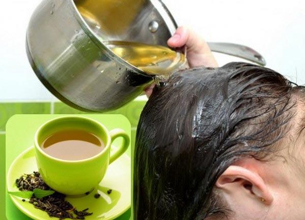 Trà xanh, sô-cô-la đen giúp ngăn tóc bạc sớm