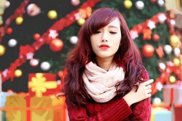 """5 màu tóc """"hot trend"""" của Giáng Sinh năm nay"""