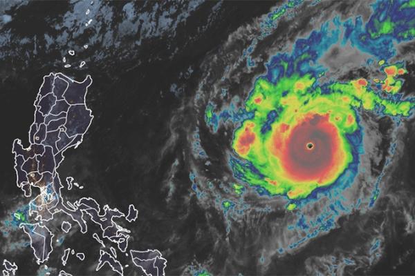 Siêu bão Goni mạnh hơn Molave chuẩn bị vượt Philippines vào Biển Đông