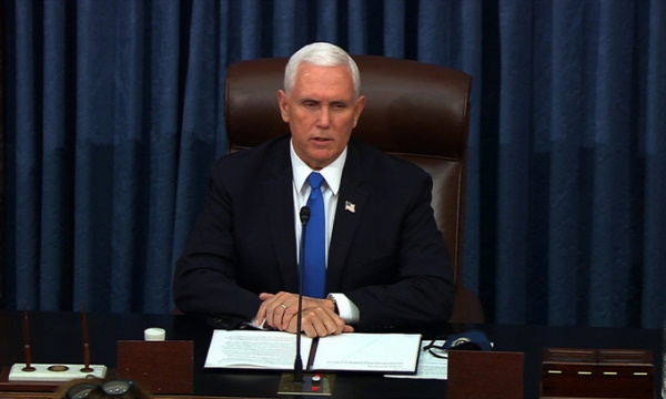 Quốc hội Mỹ nối lại cuộc họp sau bạo loạn