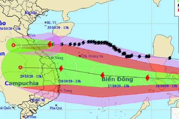 Có thể phải sơ tán gần 1,3 triệu dân do bão số 9