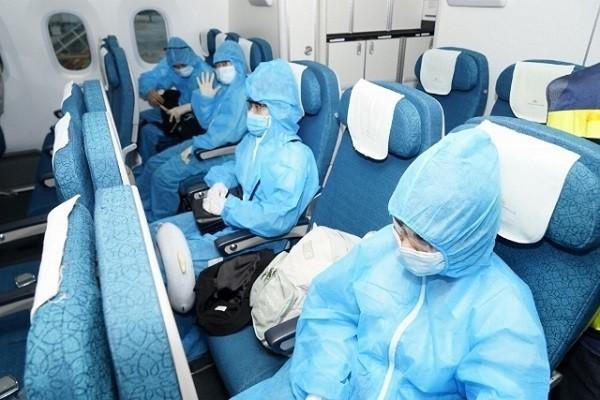 Sáng nay 25.9, chuyến bay quốc tế đầu tiên về Hà Nội sau dịch COVID-19