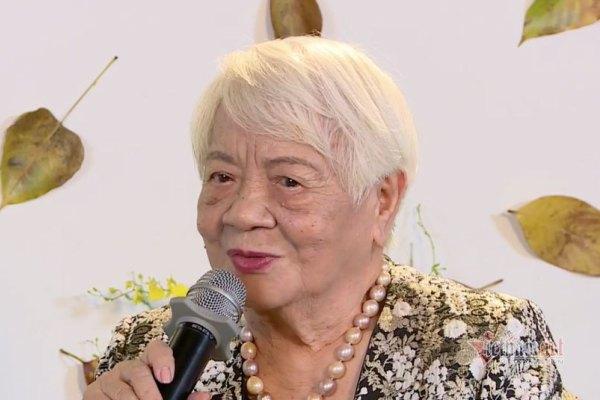 Nữ đạo diễn 92 tuổi cả đời nặng lòng với nghệ thuật nước nhà