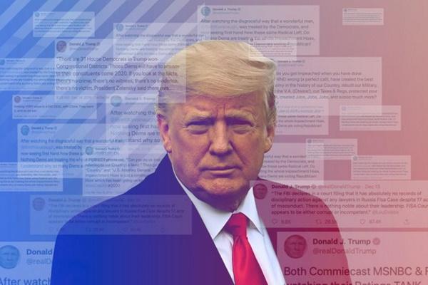 Twitter khóa tài khoản Trump vì đăng video công kích cha con Biden, CEO phải hầu tòa