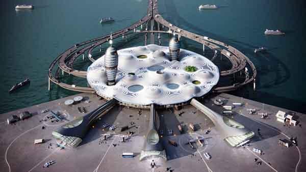 Ngắm nhìn cảng hàng không vũ trụ tương lai của Nhật Bản