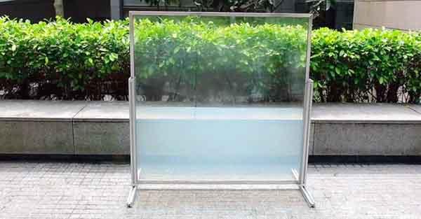 Kính cửa sổ bằng chất lỏng giúp tiết kiệm bằng điện năng