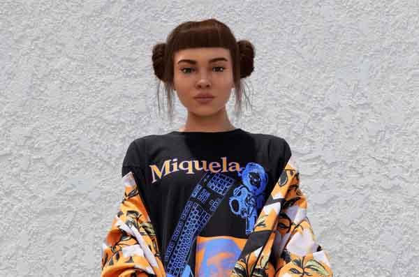 """Người mẫu """"ảo"""": xu hướng mới trong ngành thời trang?"""