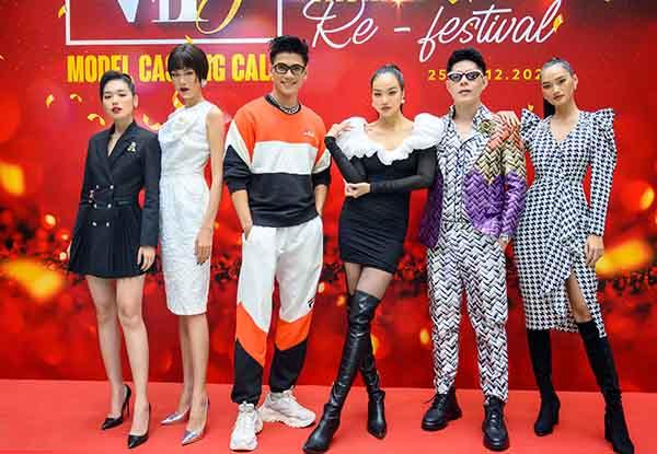 Hoa hậu Kiều Ngân cùng dàn người mẫu The Face chấm casting cho VIFF 2020