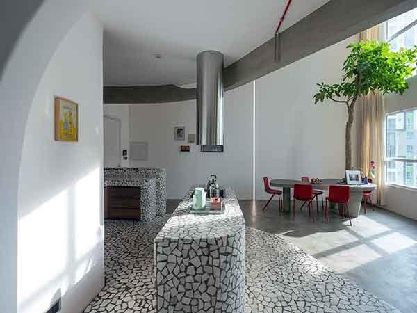 Mài Apartment – Căn hộ độc đáo của những không gian mở