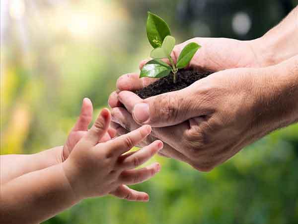 Nói với con về tình yêu môi trường