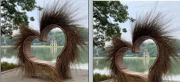 'Trái tim lông lá' bên Hồ Gươm đã được di dời