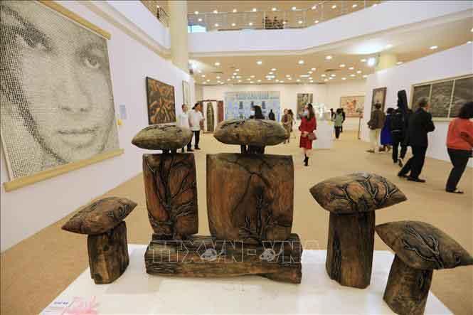 Gần 500 tác phẩm trưng bày tại Triển lãm Mỹ thuật Việt Nam 2020