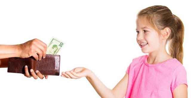 Có nên cho trẻ tiền tiêu vặt? (Kỳ I)