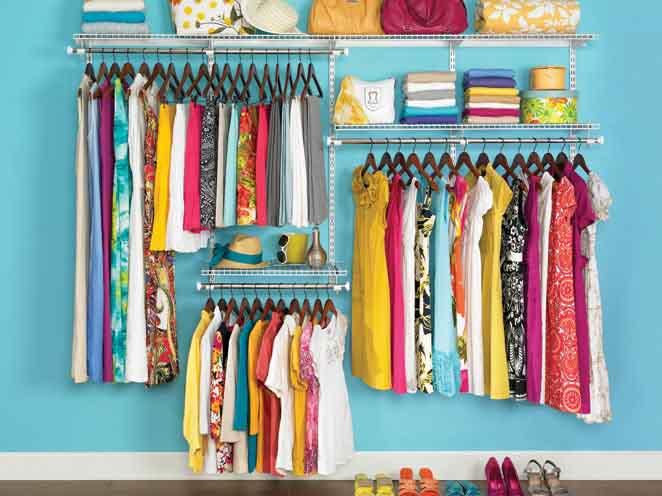Mách bạn sắp xếp tủ quần áo siêu ngăn nắp cho một năm mới may mắn