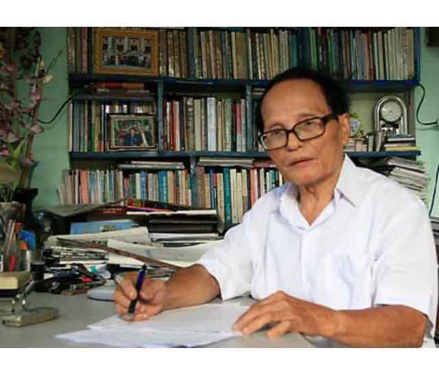 Nhà thơ Giang Nam - Tác giả bài thơ Quê hương nổi tiếng vẫn khỏe mạnh và được yêu mến