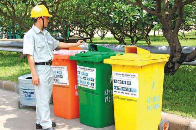 Sắp tới nếu không phân loại rác thải sẽ không được thu gom