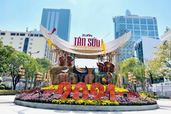 Khách du lịch đến TPHCM trong dịp Tết Tân Sửu giảm mạnh