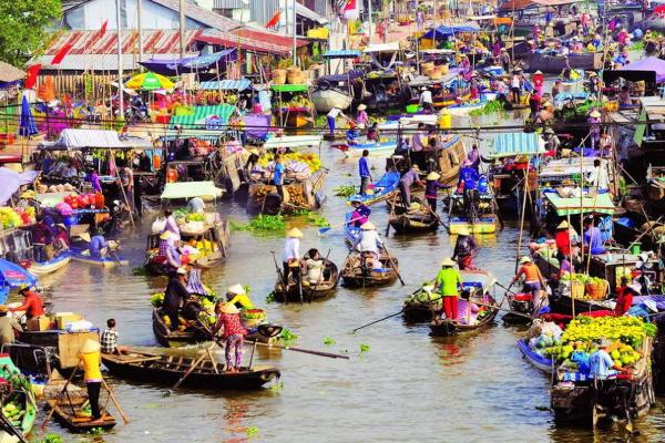 Cần Thơ có chiến lược kéo du khách đến chợ nổi Cái Răng
