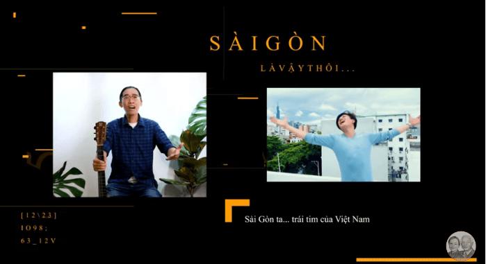 Sài Gòn là vậy thôi: Ca khúc cổ vũ TP.HCM vượt qua đại dịch
