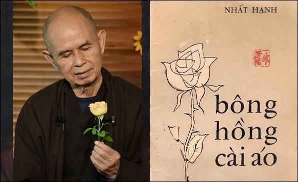 Câu chuyện về đoản văn 'Bông hồng cài áo' của Thiền sư Thích Nhất Hạnh