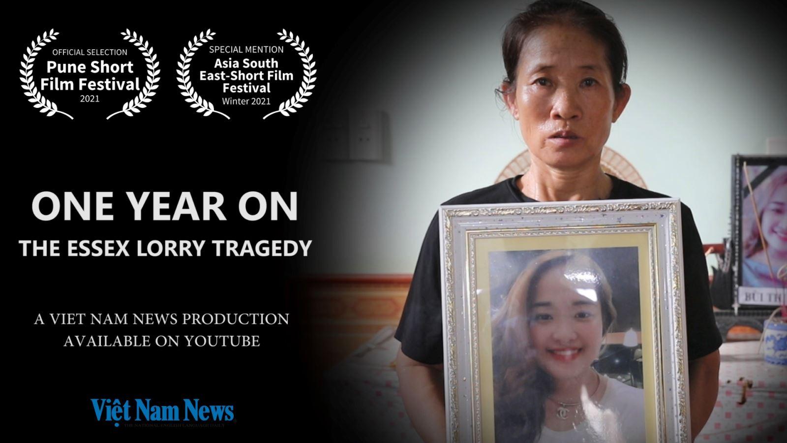 Phim tài liệu của báo Việt Nam News về thảm kịch xe tải Essex tham dự liên hoan phim quốc tế