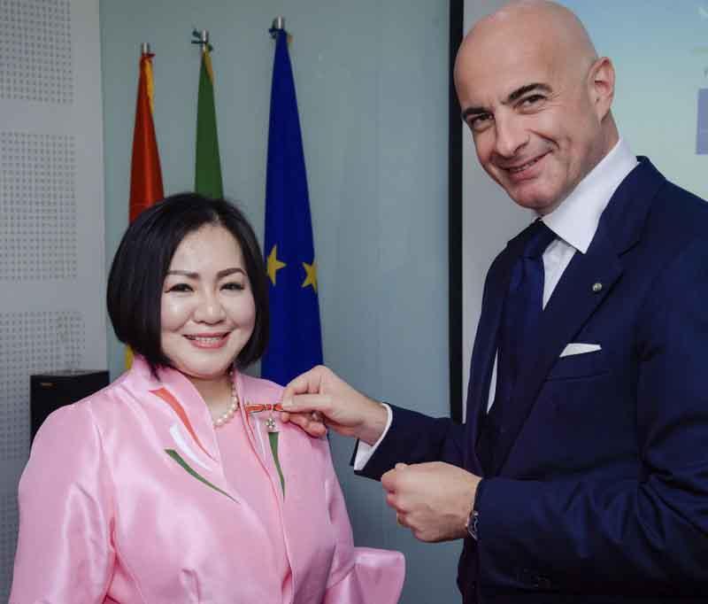 Bà Trang Lê được bổ nhiệm Đại sứ Ẩm thực Italia tại Việt Nam