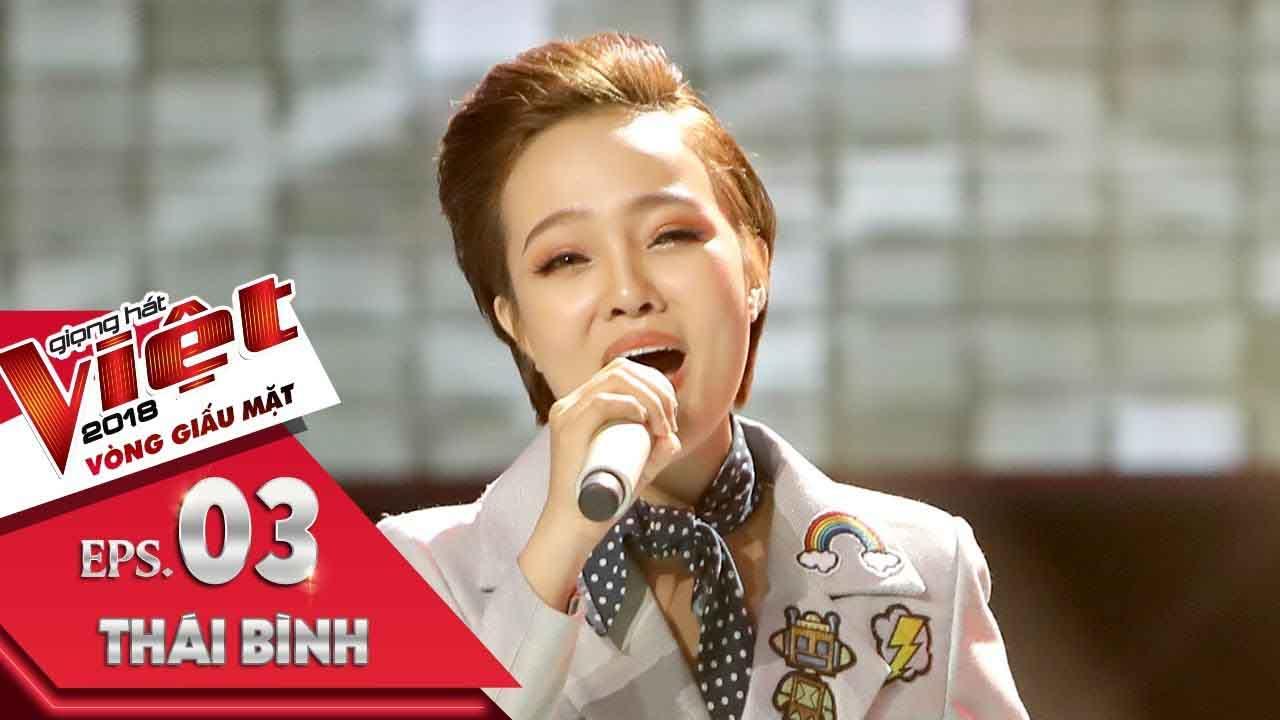 Đặng Thị Thái Bình - Chắc Anh Đang   Tập 3 Vòng Giấu Mặt   The Voice 2018