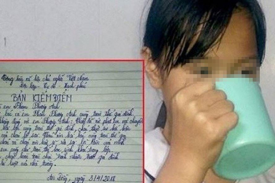 Tâm thư đầy trăn trở của người mẹ gửi cô giáo bắt trẻ súc miệng bằng nước giặt giẻ lau bảng